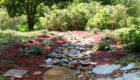 Drainage Dry Creekbed Stepping Stones