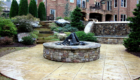 Stonewall Colored Textured Patio
