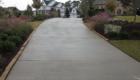 texture concrete driveway
